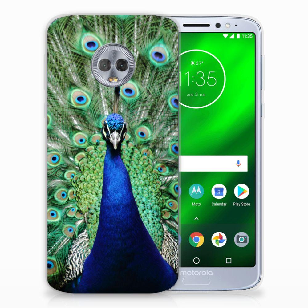 Motorola Moto G6 Plus TPU Hoesje Pauw
