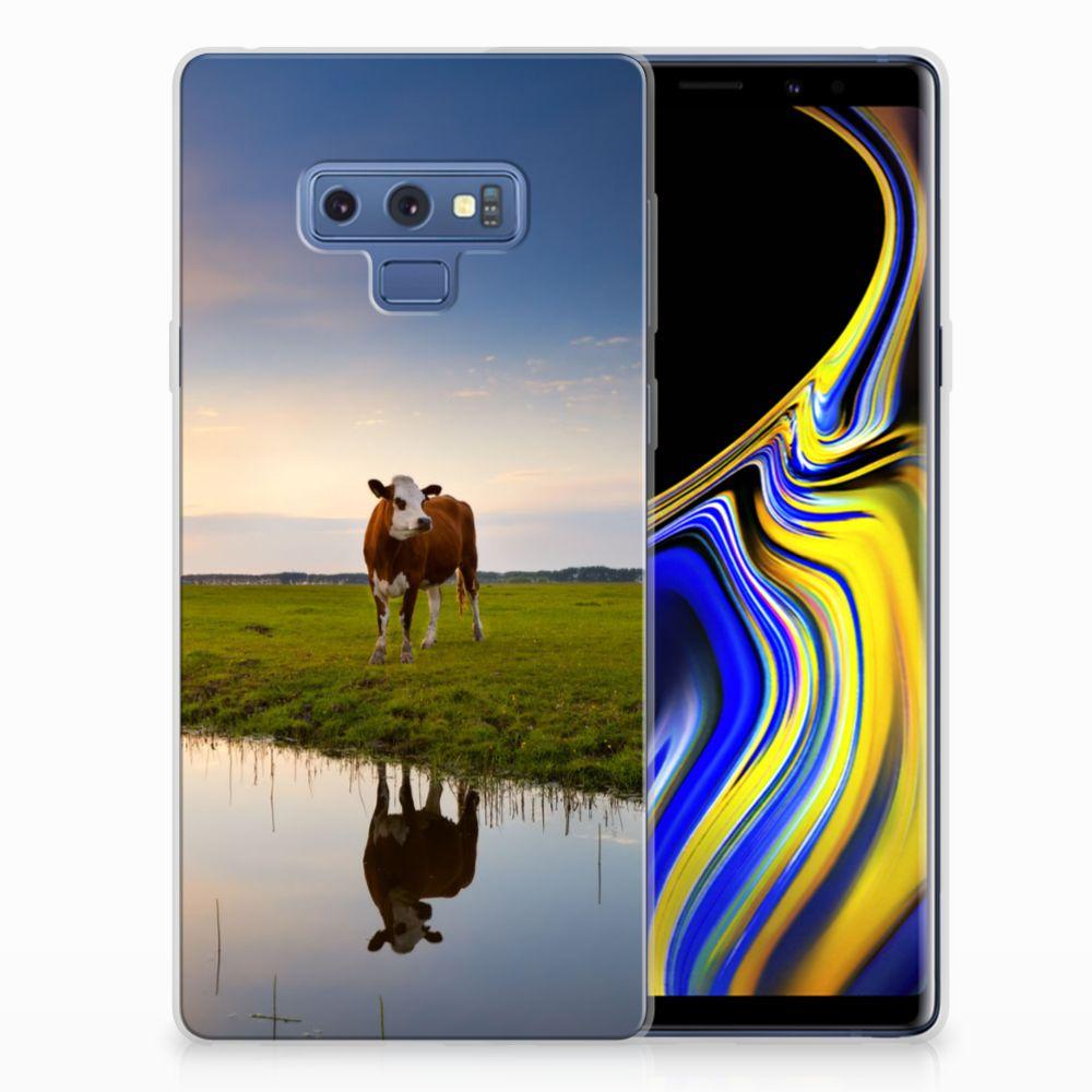 Samsung Galaxy Note 9 TPU Hoesje Design Koe