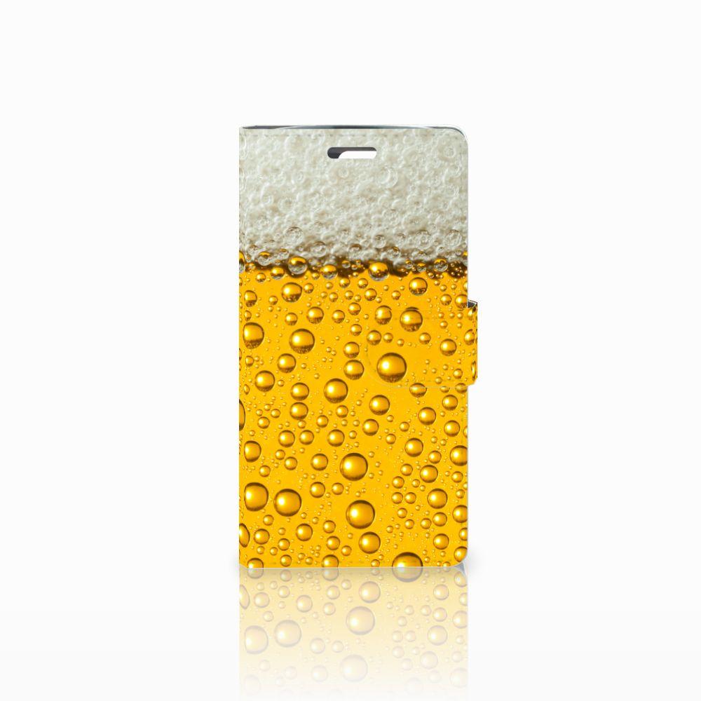 LG K10 2015 Uniek Boekhoesje Bier
