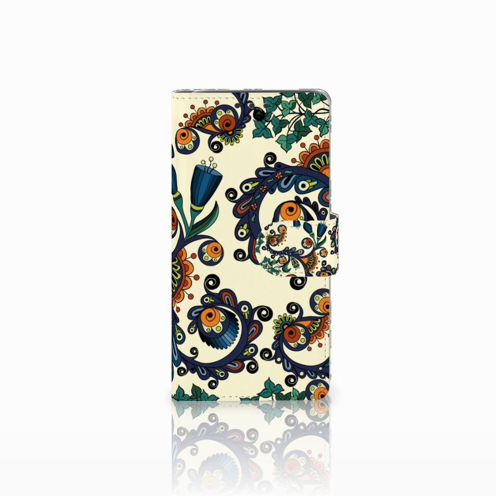 HTC Desire 626 | Desire 626s Boekhoesje Design Barok Flower