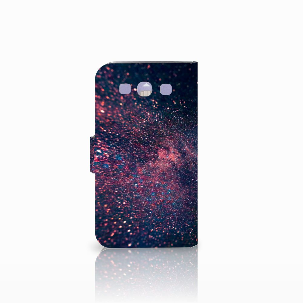 Samsung Galaxy S3 i9300 Bookcase Stars