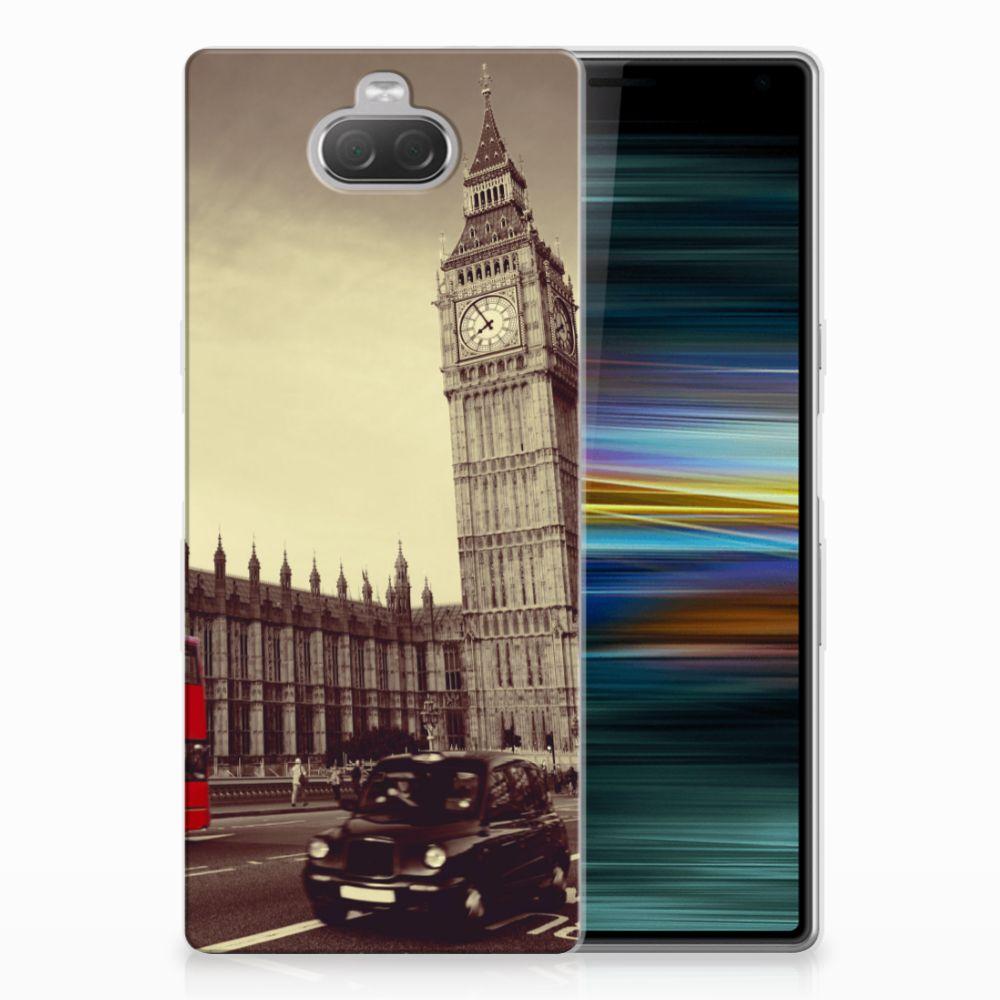 Sony Xperia 10 Plus Siliconen Back Cover Londen