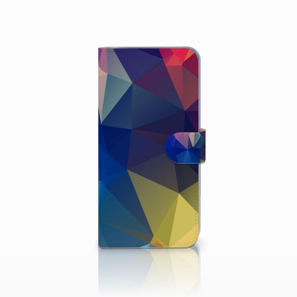 HTC Desire 10 Pro Bookcase Polygon Dark