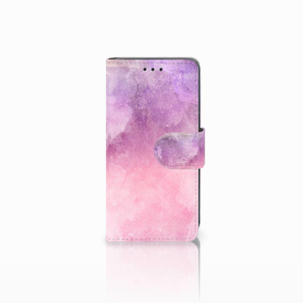 Nokia Lumia 630 Boekhoesje Design Pink Purple Paint