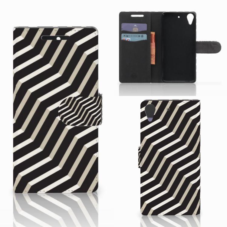 HTC Desire 628 Bookcase Illusion