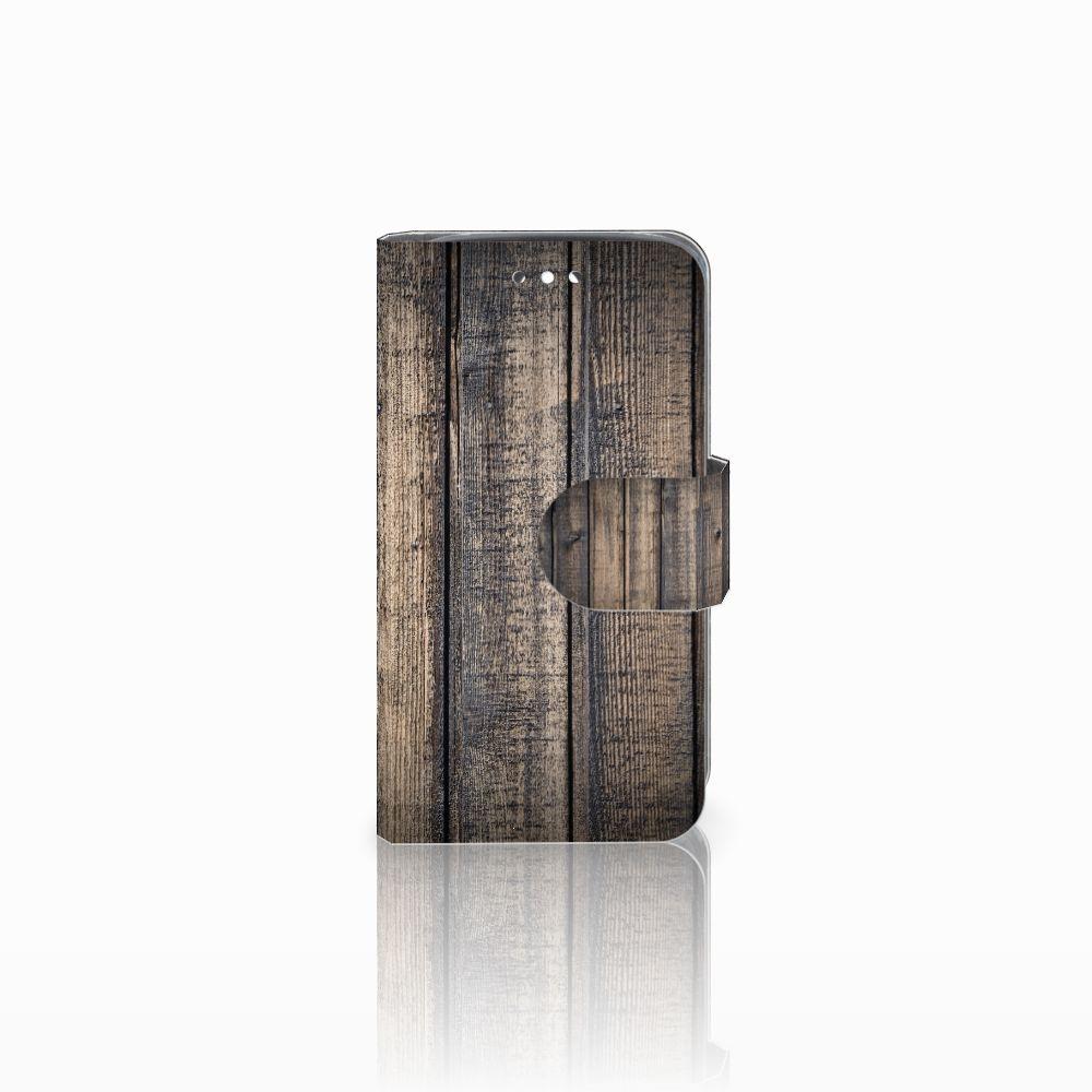 Huawei Y360 Boekhoesje Design Steigerhout