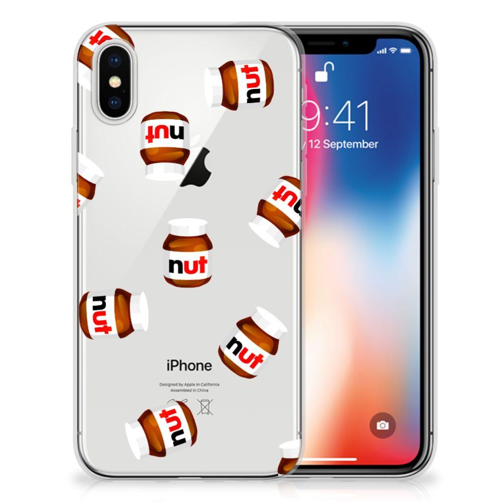 Apple iPhone X | Xs Uniek TPU Hoesje Nut Jar