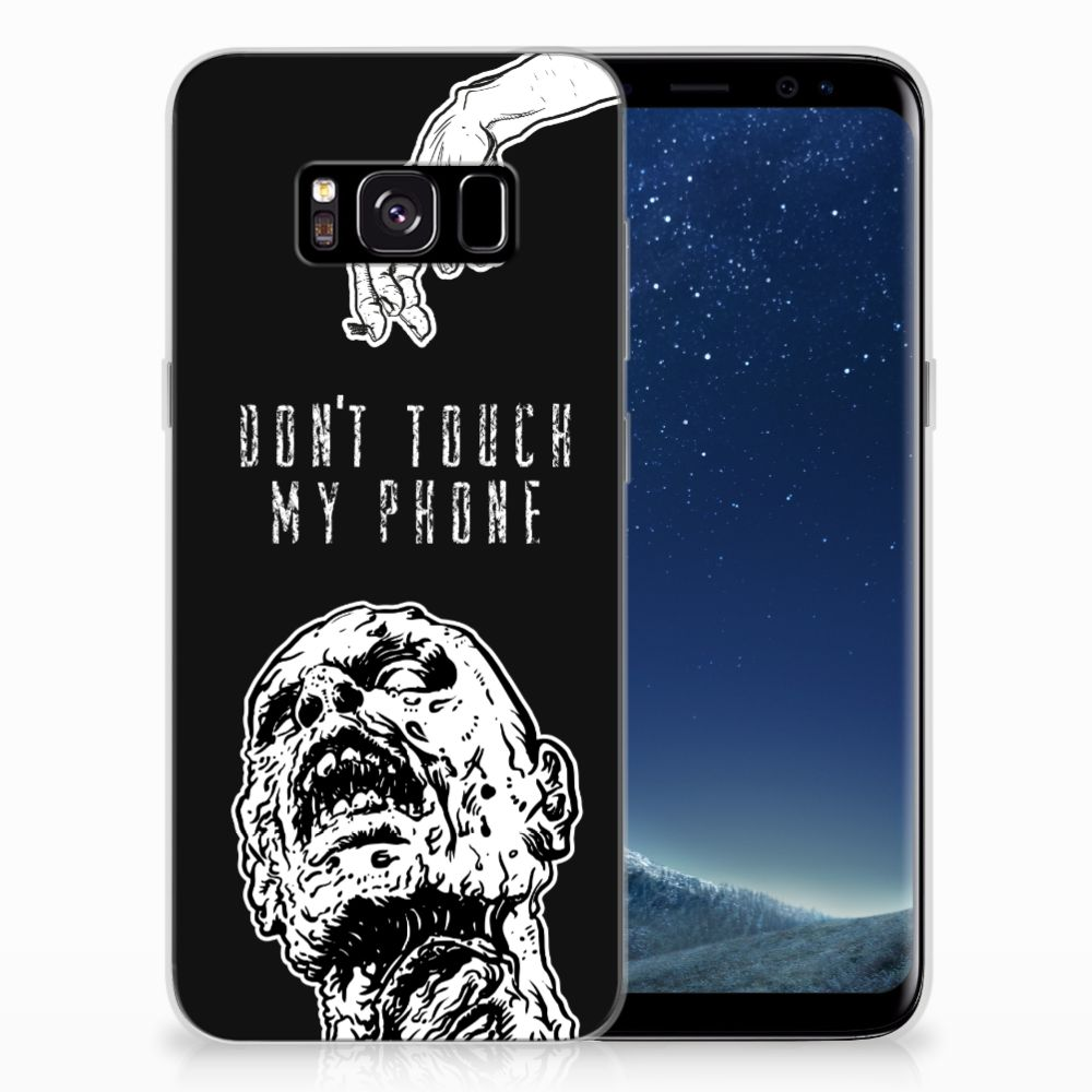 Silicone-hoesje Samsung Galaxy S8 Zombie