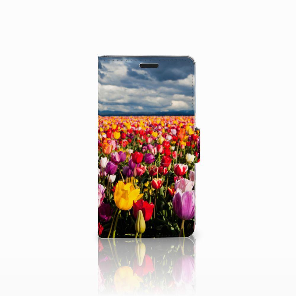 LG G3 Uniek Boekhoesje Tulpen
