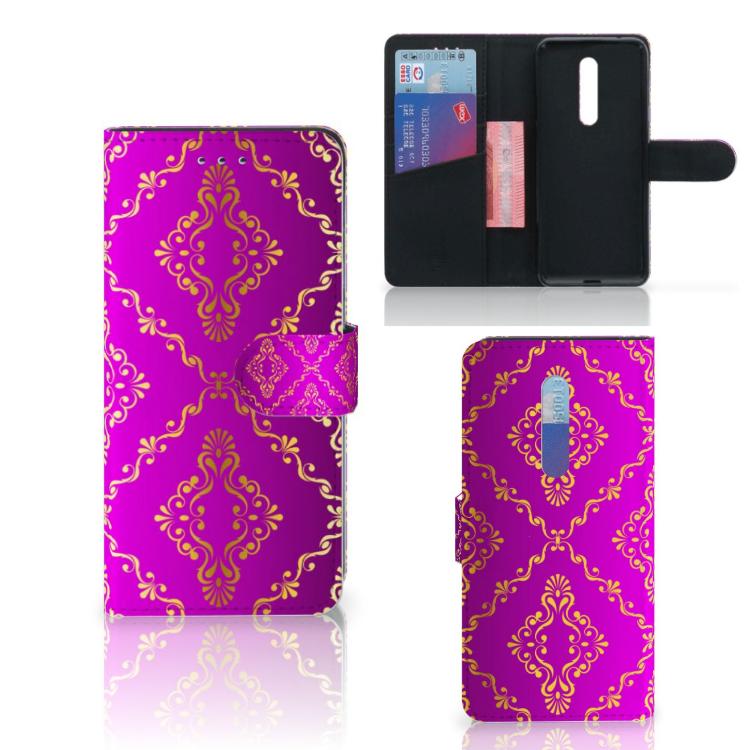Wallet Case Xiaomi Mi 9T Pro Barok Roze