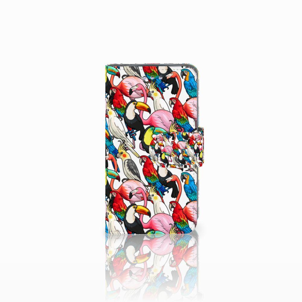 Samsung Galaxy S3 Mini Uniek Boekhoesje Birds