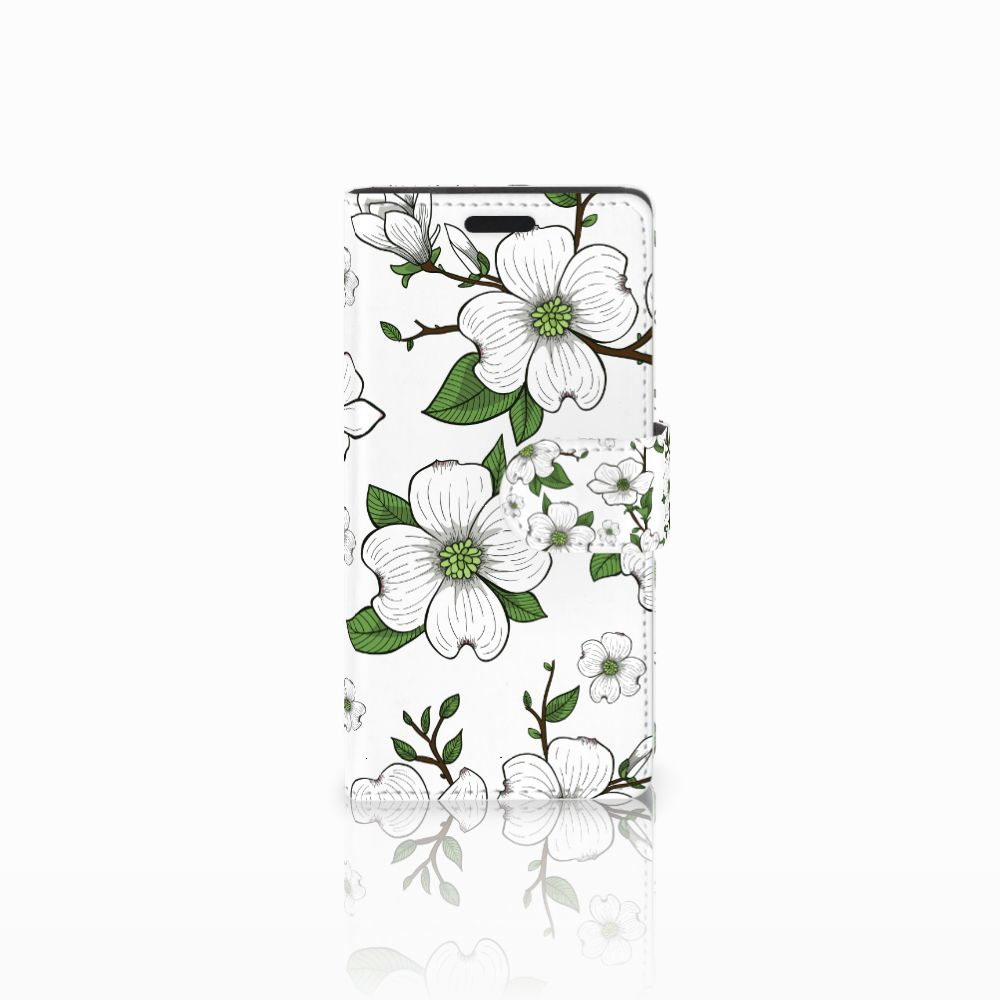 LG Leon 4G Boekhoesje Design Dogwood Flowers