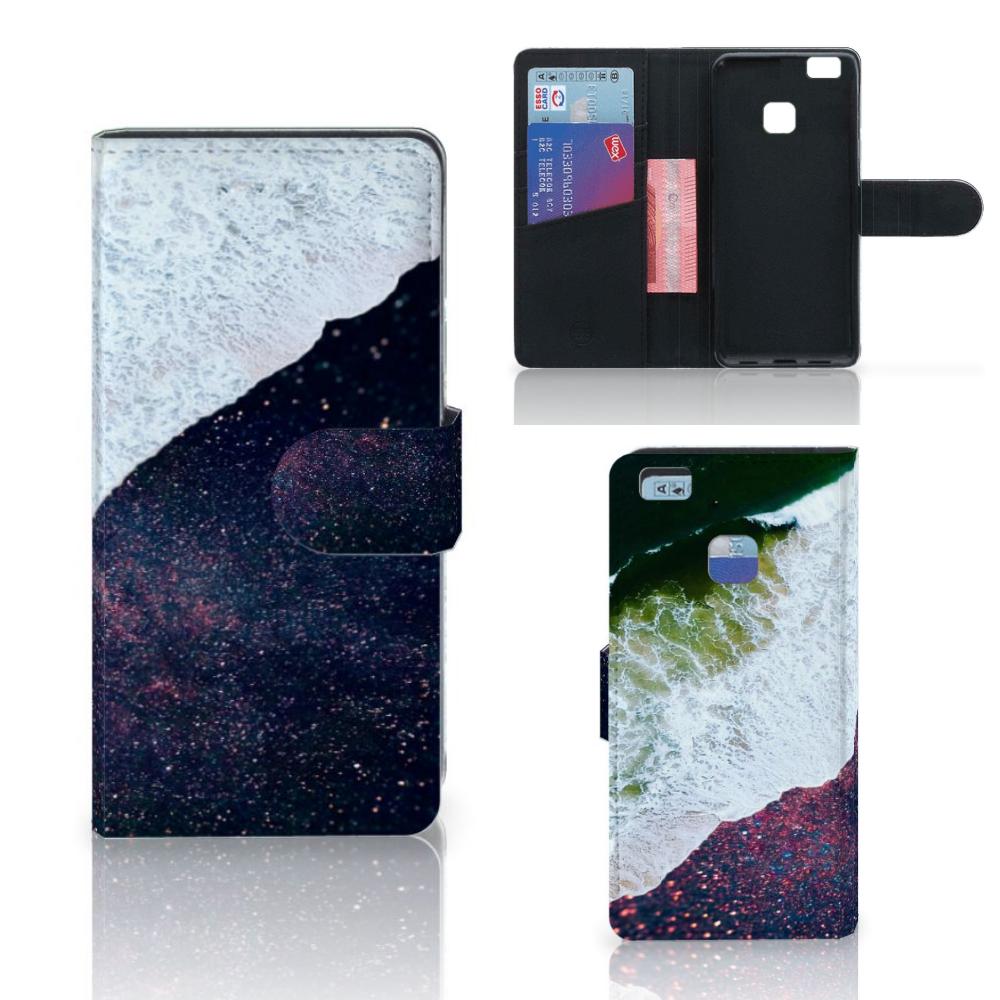 Huawei P9 Lite Bookcase Sea in Space