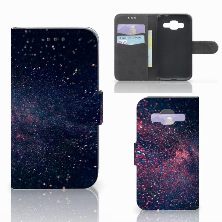 Samsung Galaxy Core Prime Bookcase Stars
