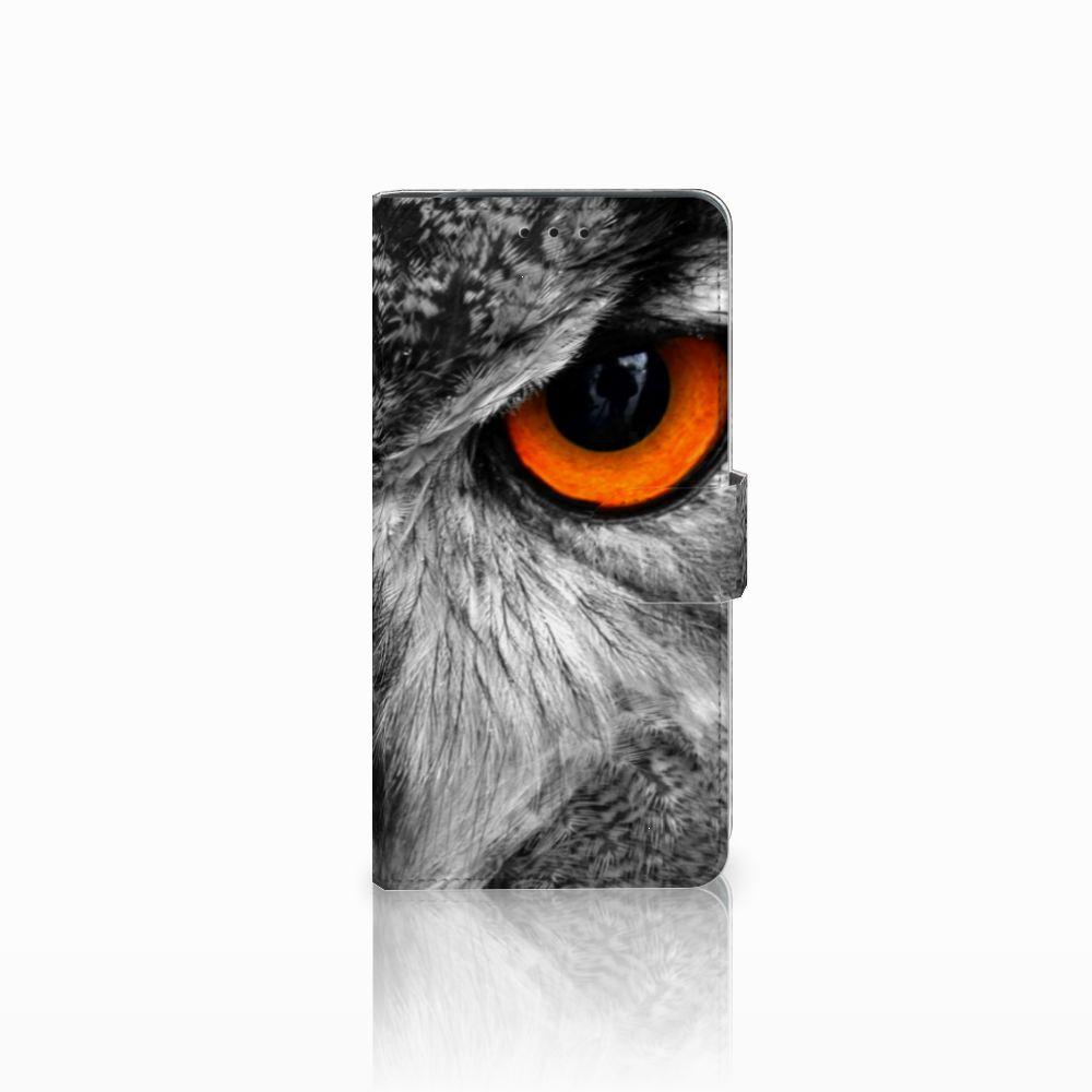 Samsung Galaxy J6 Plus (2018) Boekhoesje Design Uil