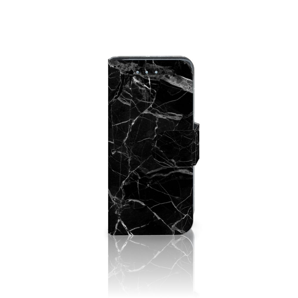 Samsung Galaxy S4 Mini i9190 Uniek Boekhoesje Marmer Zwart