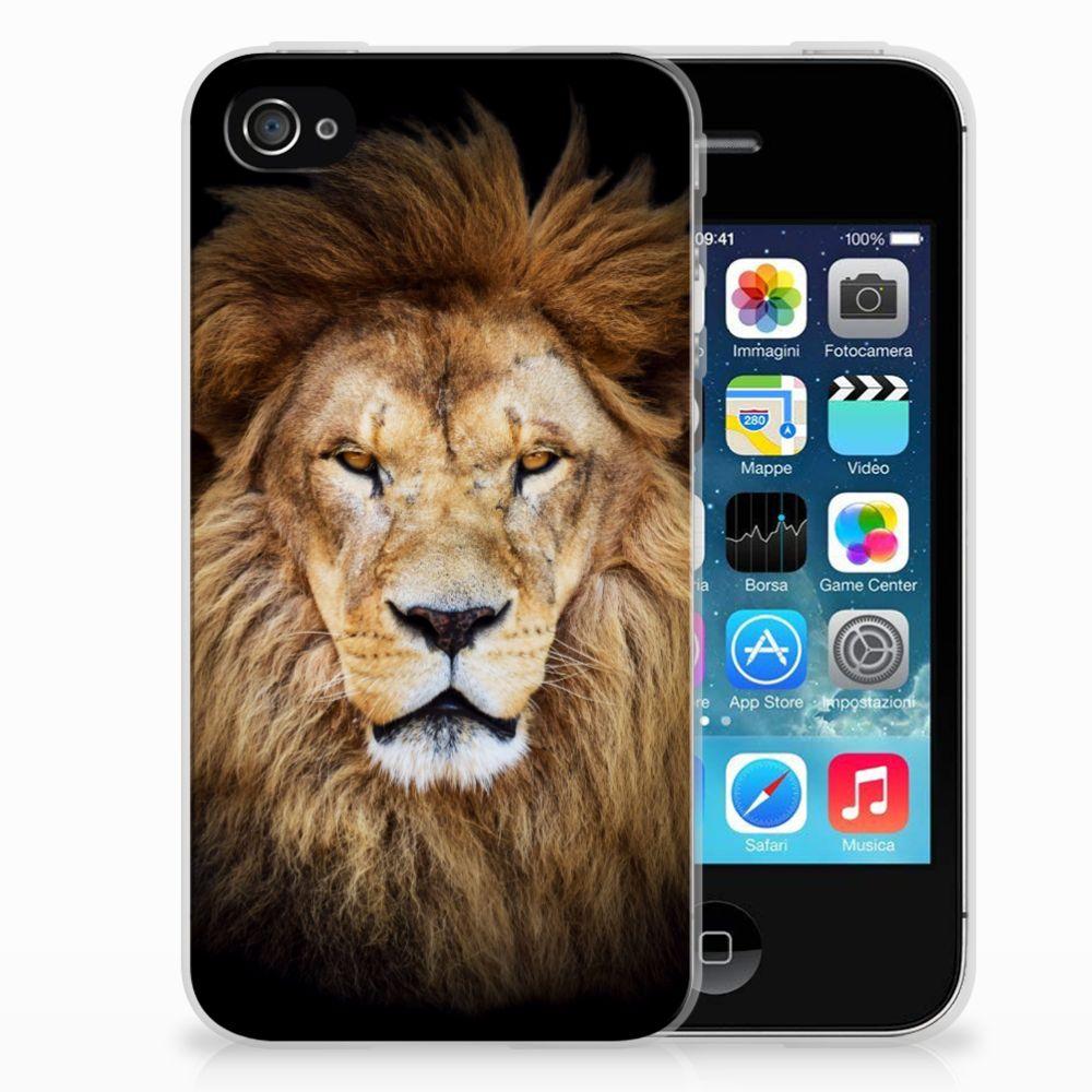 Apple iPhone 4 | 4s TPU Hoesje Leeuw
