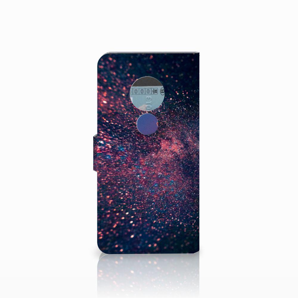 Motorola Moto E5 Bookcase Stars