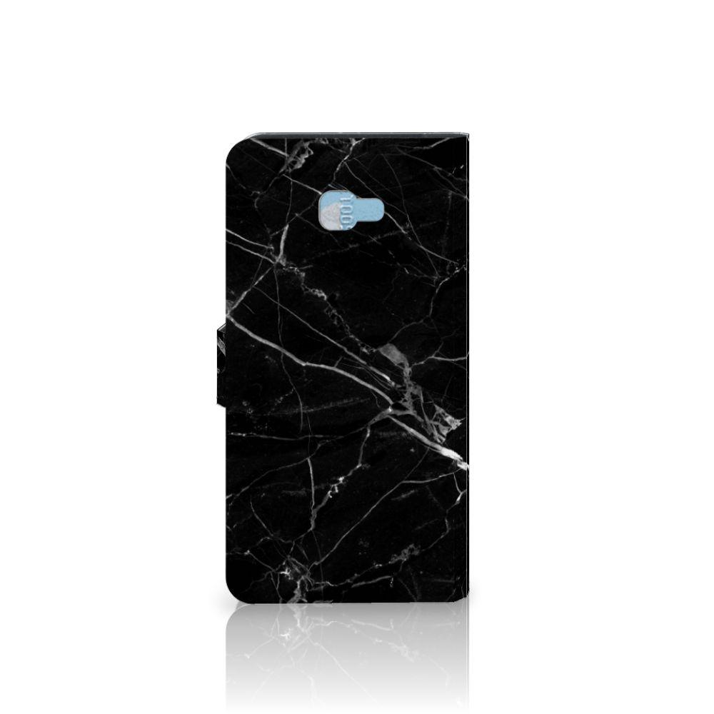 Samsung Galaxy J4 Plus (2018) Bookcase Marmer Zwart