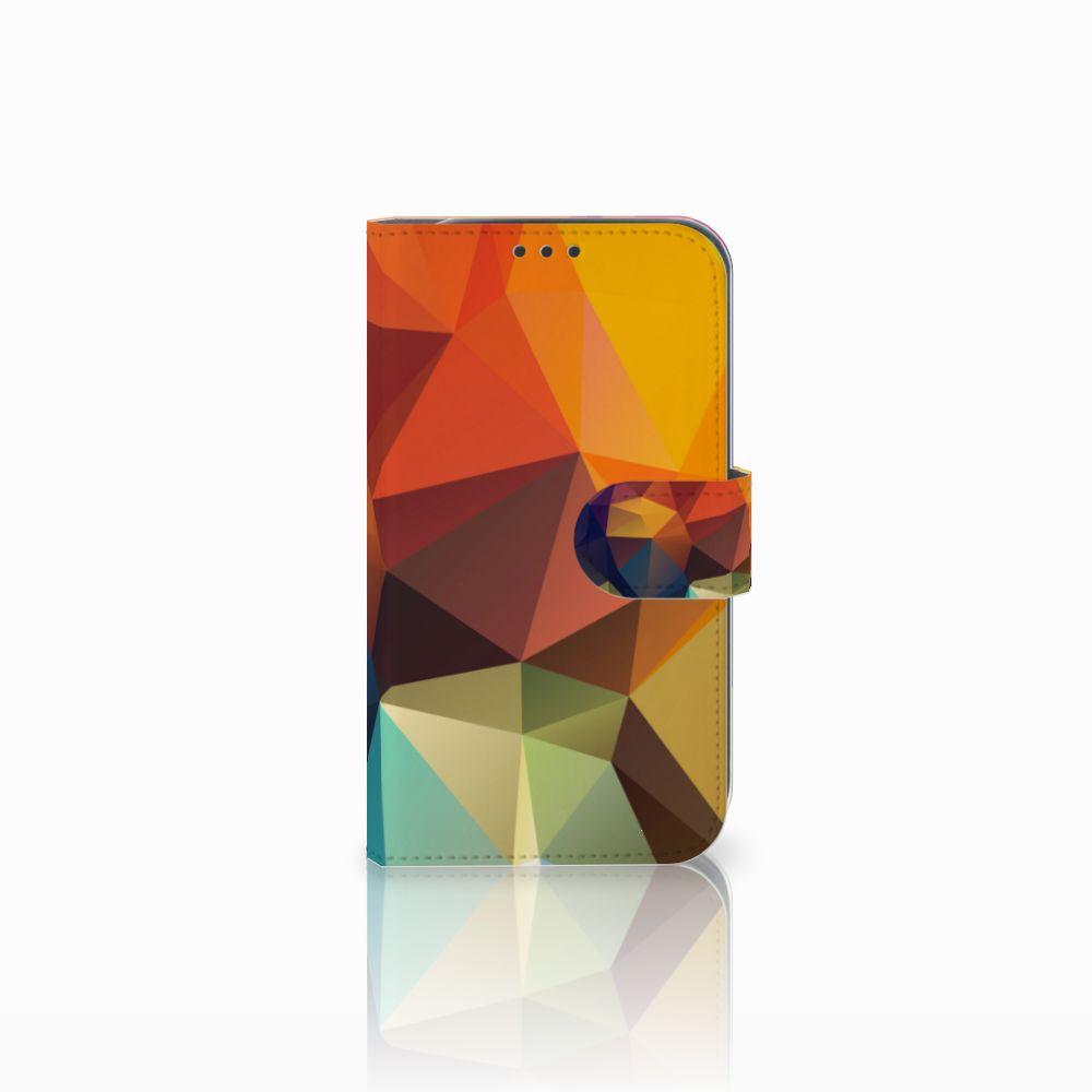 Samsung Galaxy Xcover 4 Boekhoesje Design Polygon Color