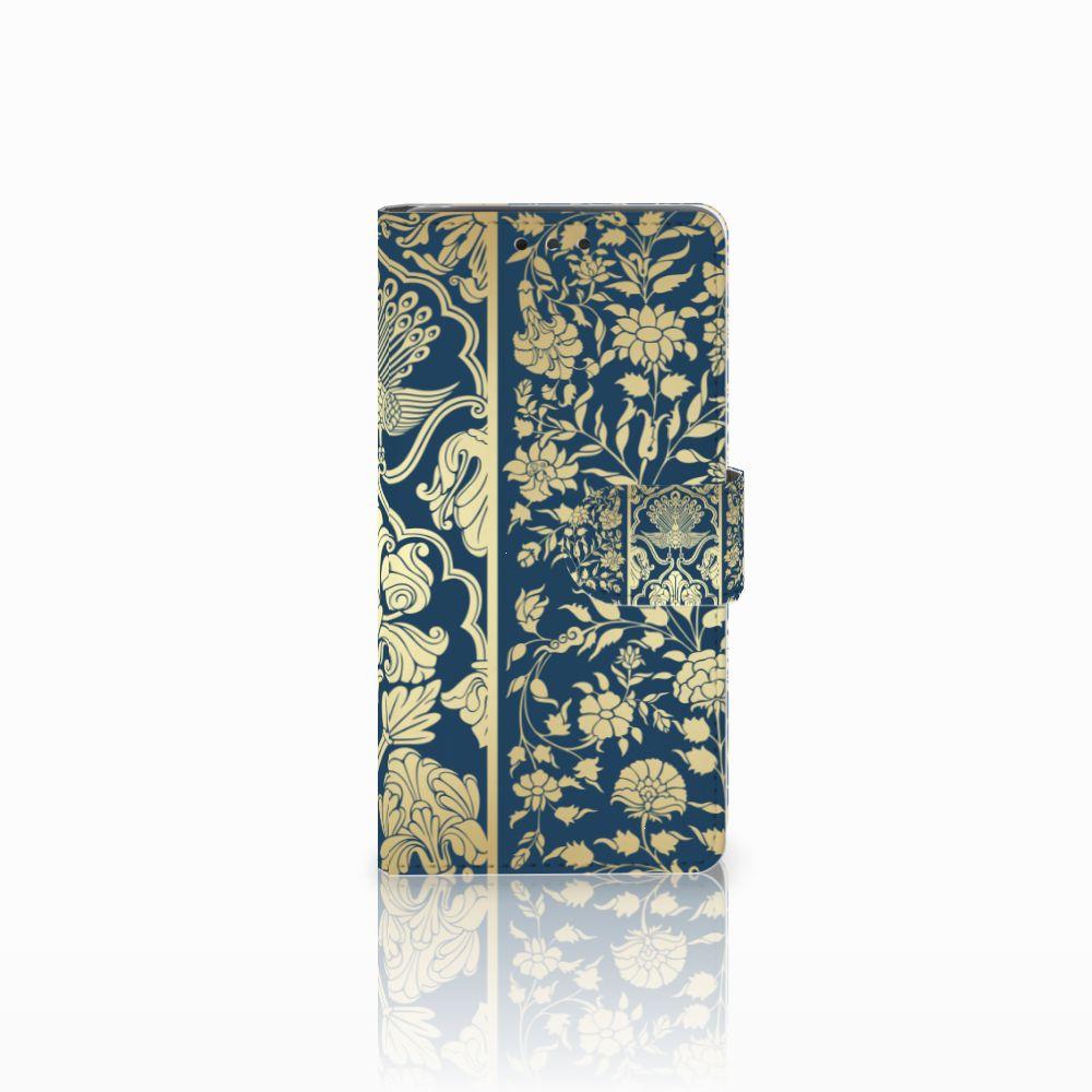 LG Bello 2 Uniek Boekhoesje Golden Flowers