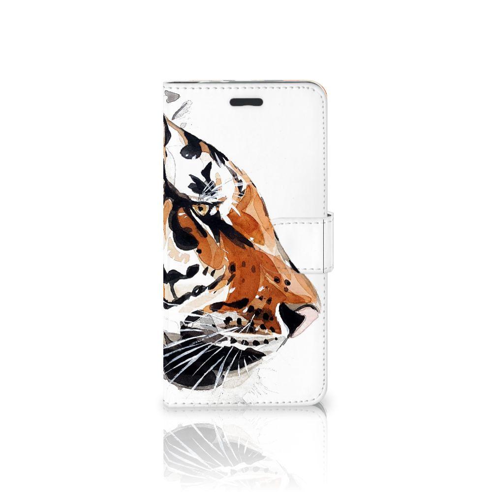Hoesje Motorola Moto Z Watercolor Tiger