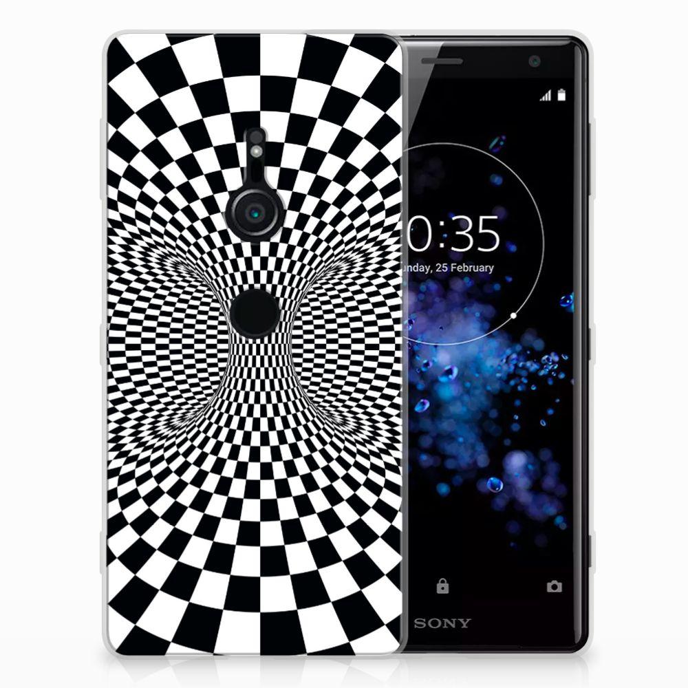 Sony Xperia XZ2 TPU Hoesje Illusie