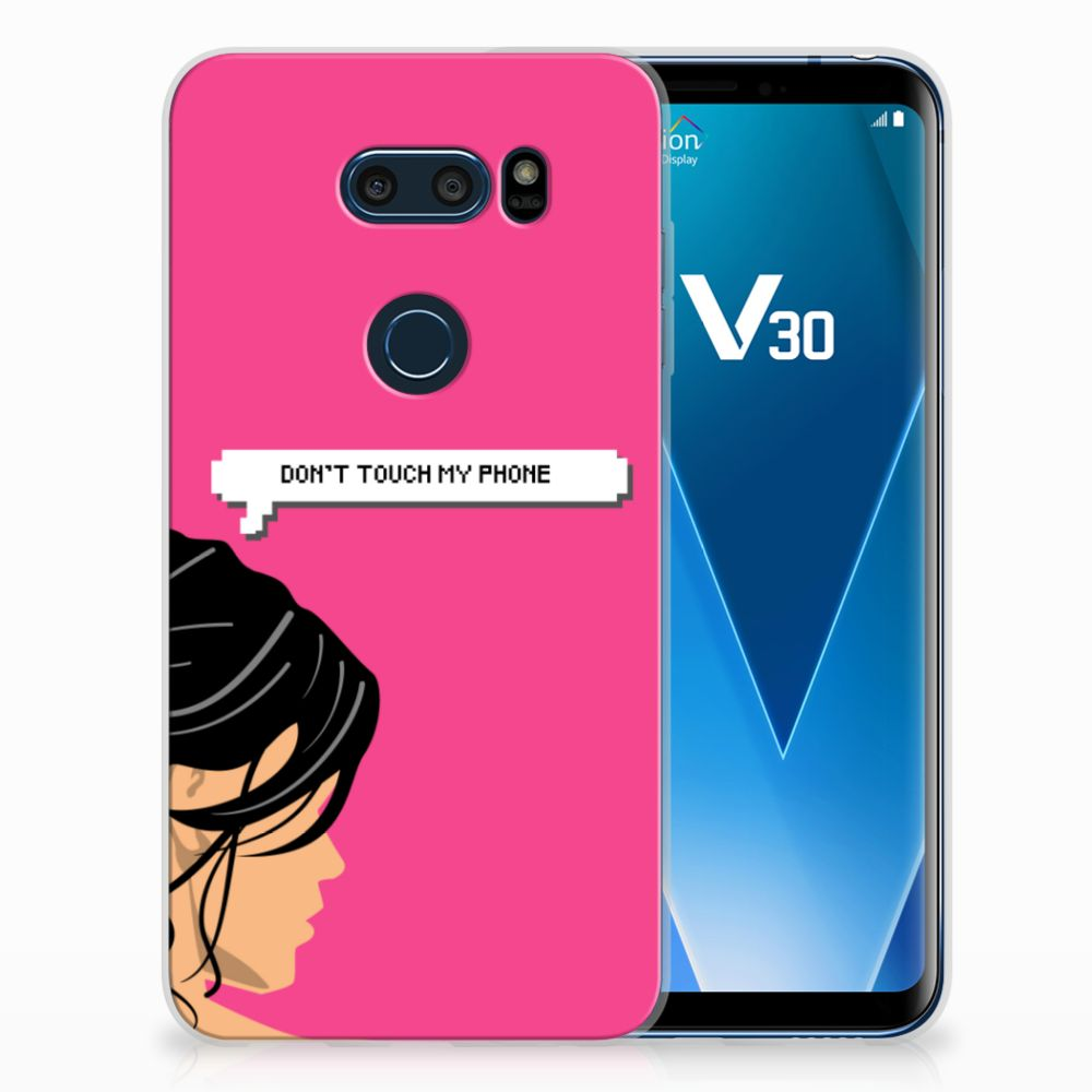 LG V30 Silicone-hoesje Woman DTMP