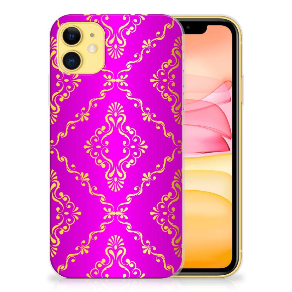 Siliconen Hoesje Apple iPhone 11 Barok Roze