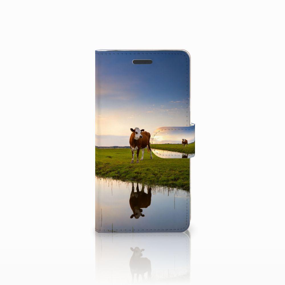 Samsung Galaxy Note 5 Boekhoesje Design Koe