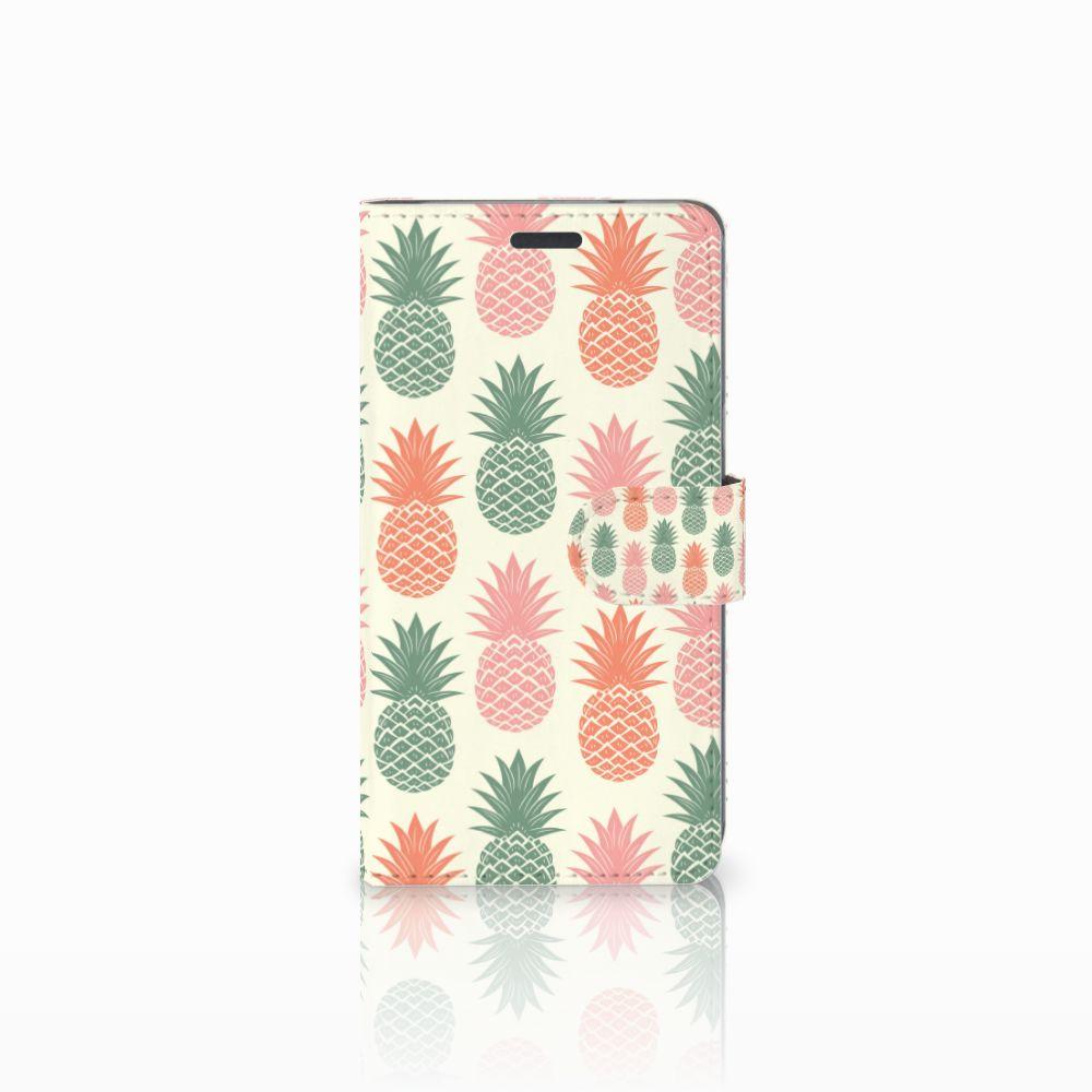 LG X Power Boekhoesje Design Ananas