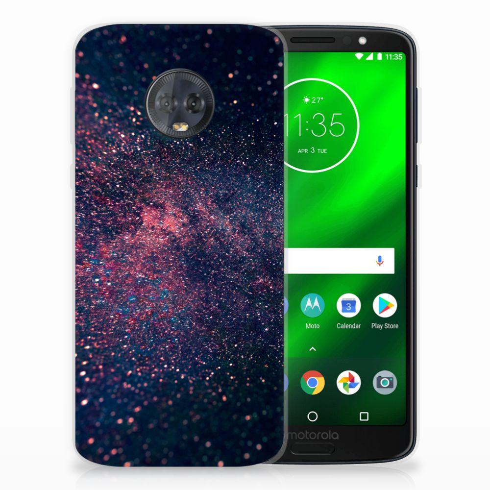 Motorola Moto G6 Plus TPU Hoesje Stars