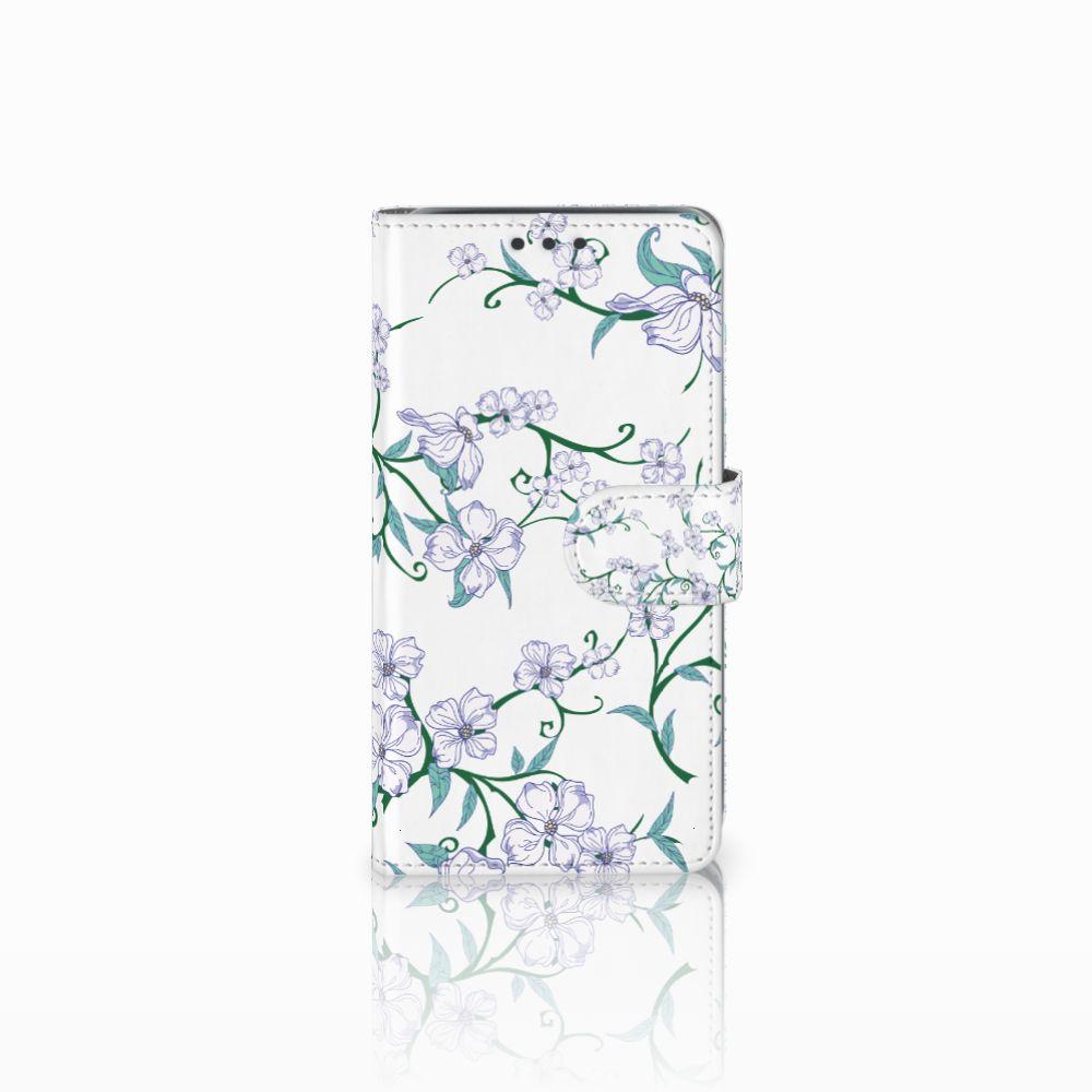 Samsung Galaxy J5 (2015) Uniek Boekhoesje Blossom White