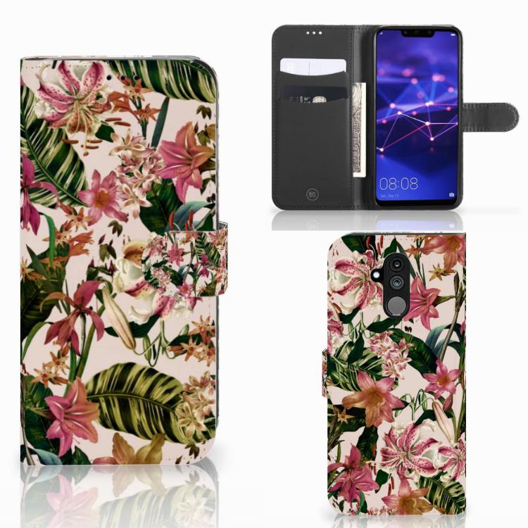 Huawei Mate 20 Lite Hoesje Flowers