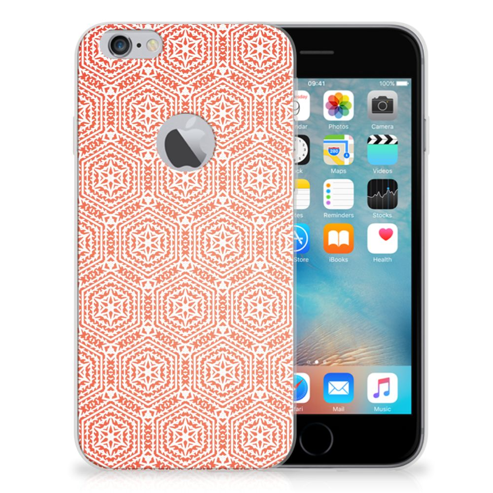 Apple iPhone 6 Plus | 6s Plus TPU bumper Pattern Orange