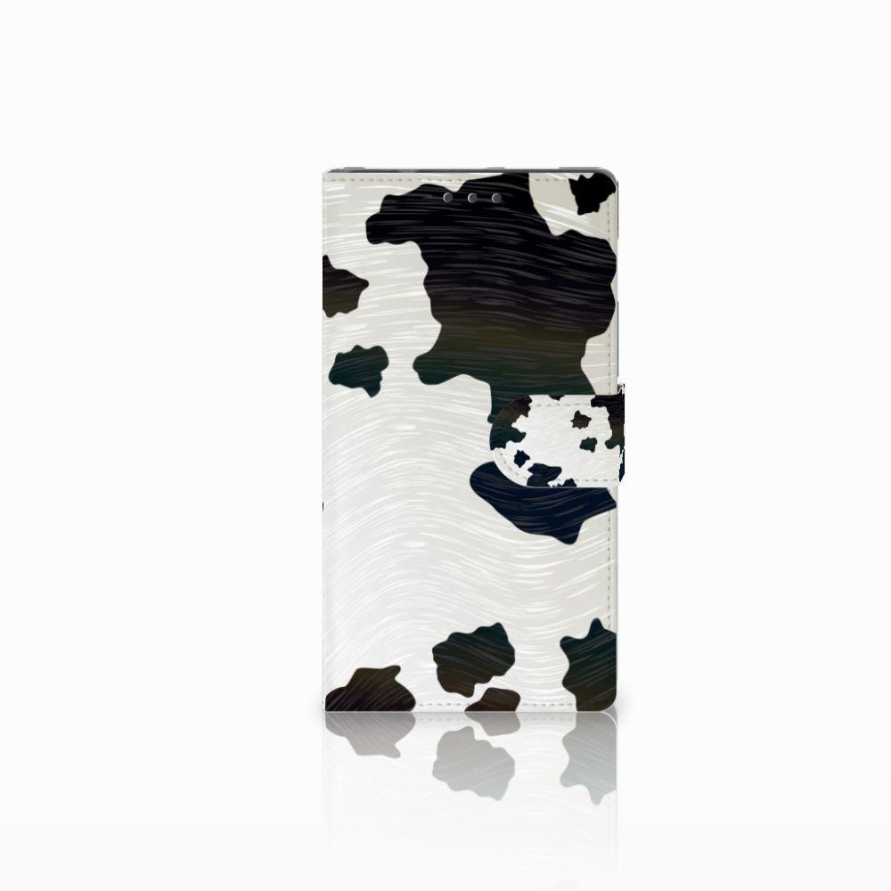 Samsung Galaxy Note 4 Boekhoesje Design Koeienvlekken