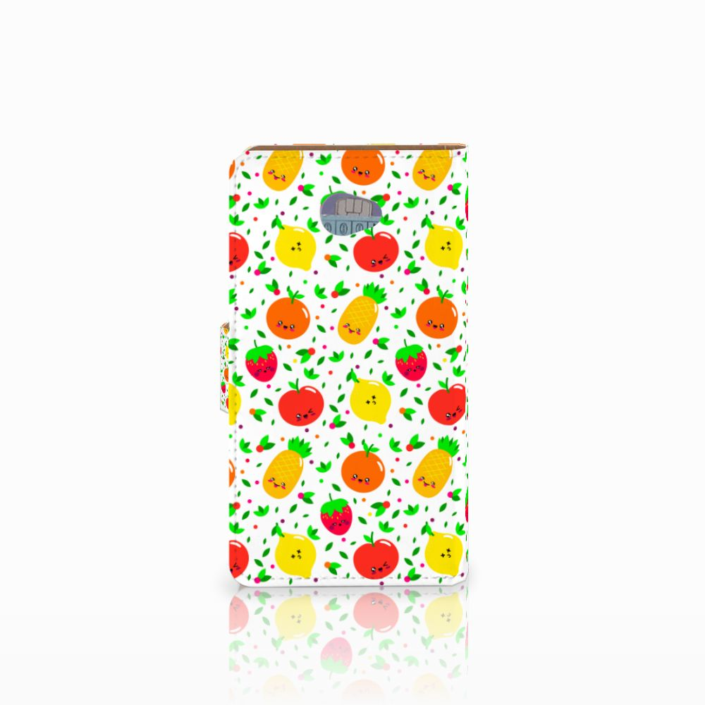 HTC Desire 601 Book Cover Fruits