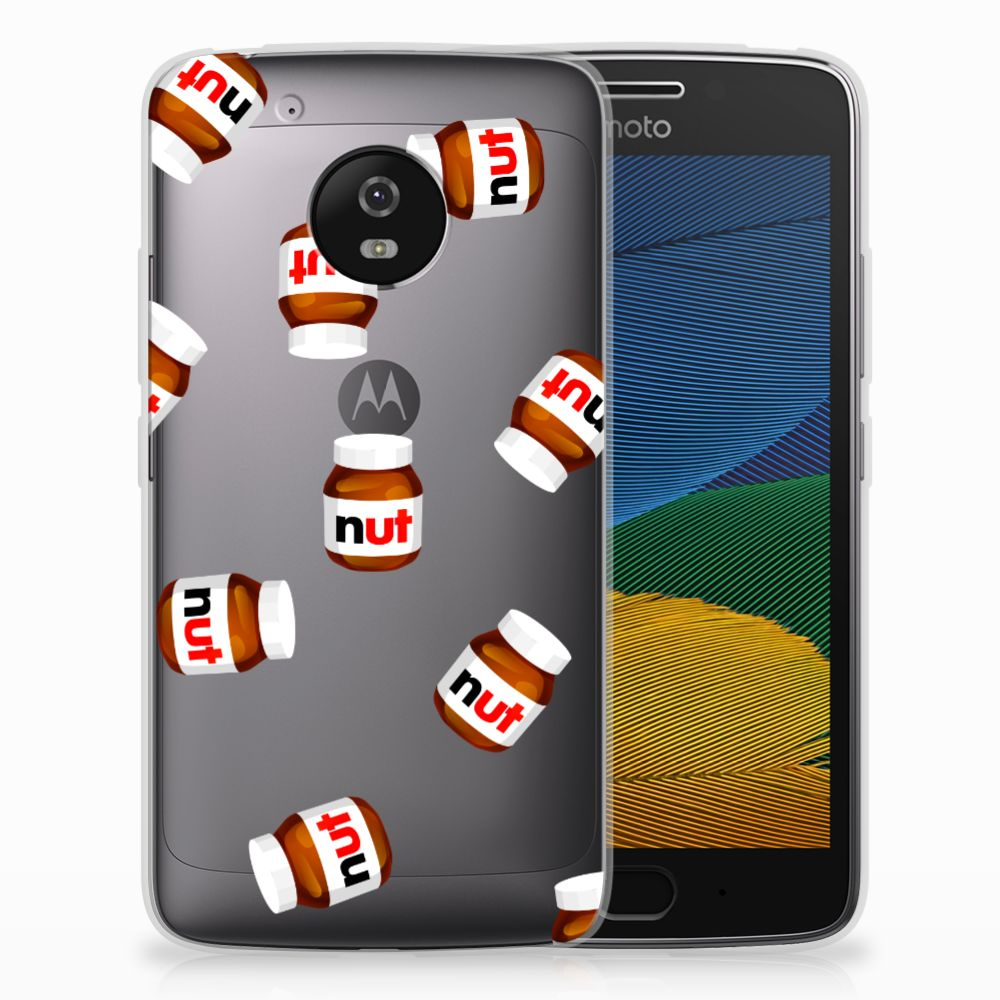 Motorola Moto G5 Siliconen Case Nut Jar