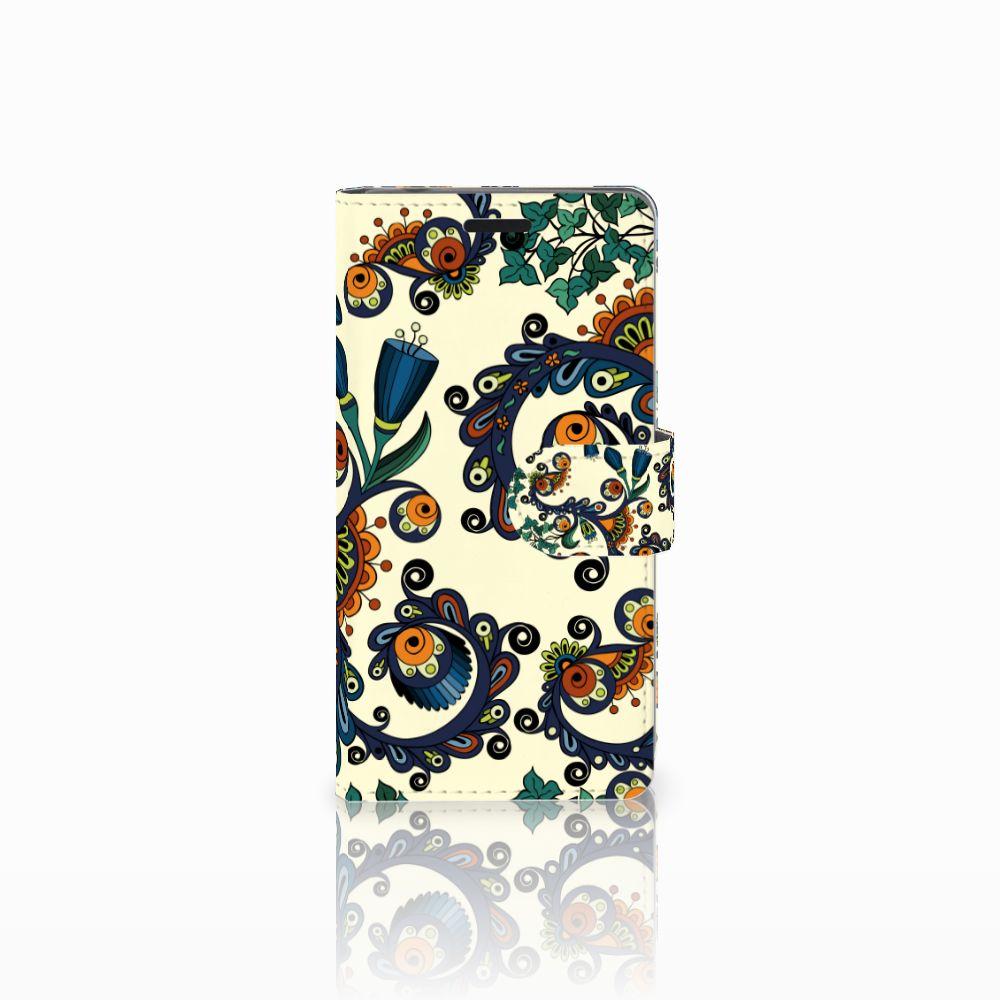 Sony Xperia E3 Boekhoesje Design Barok Flower