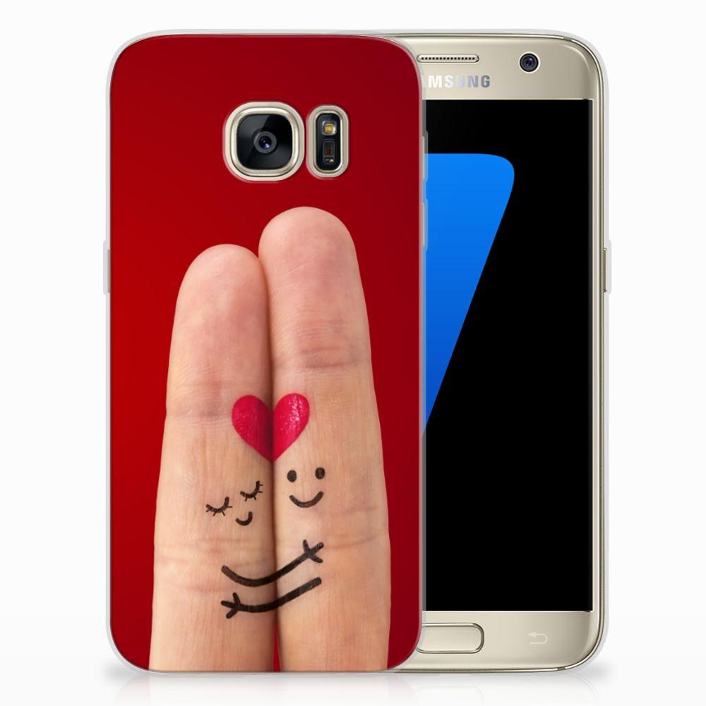 Samsung Galaxy S7 Uniek TPU Hoesje Liefde
