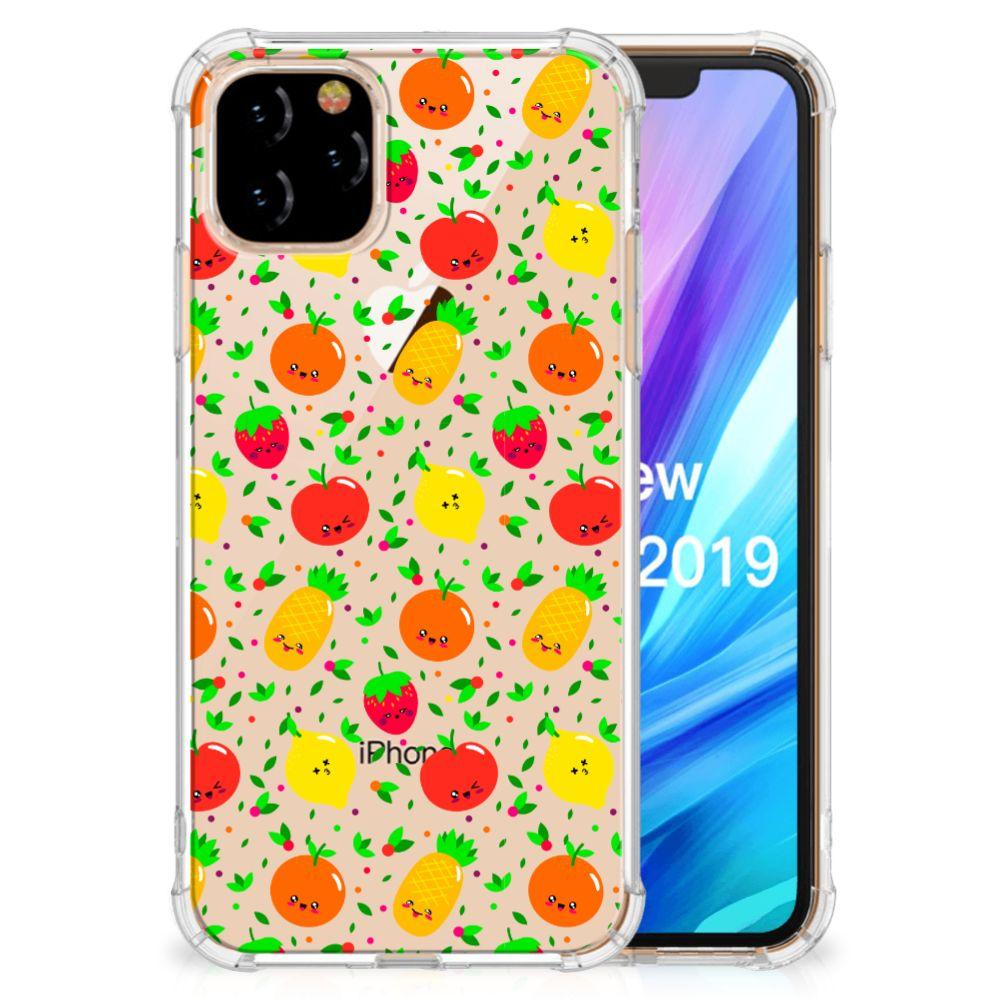 Apple iPhone 11 Pro Beschermhoes Fruits