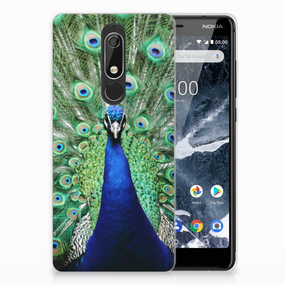Nokia 5.1 (2018) TPU Hoesje Design Pauw