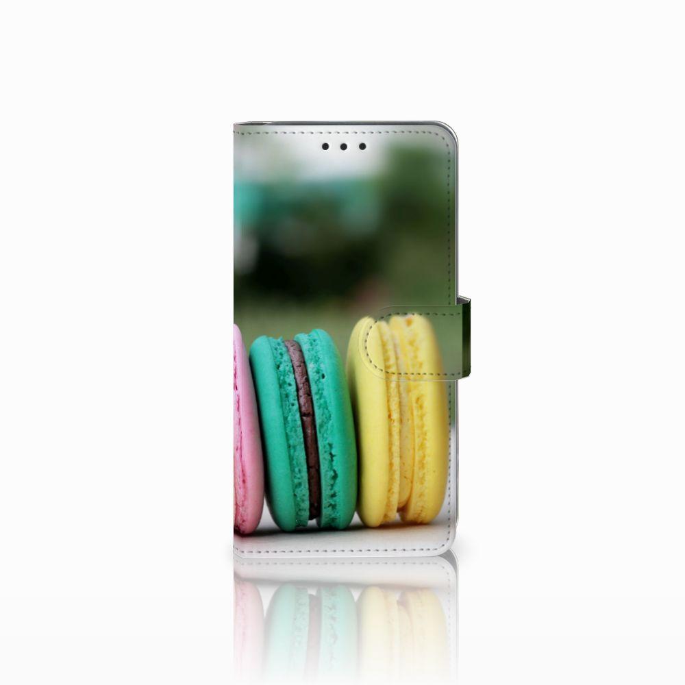 Samsung Galaxy A8 2018 Boekhoesje Design Macarons