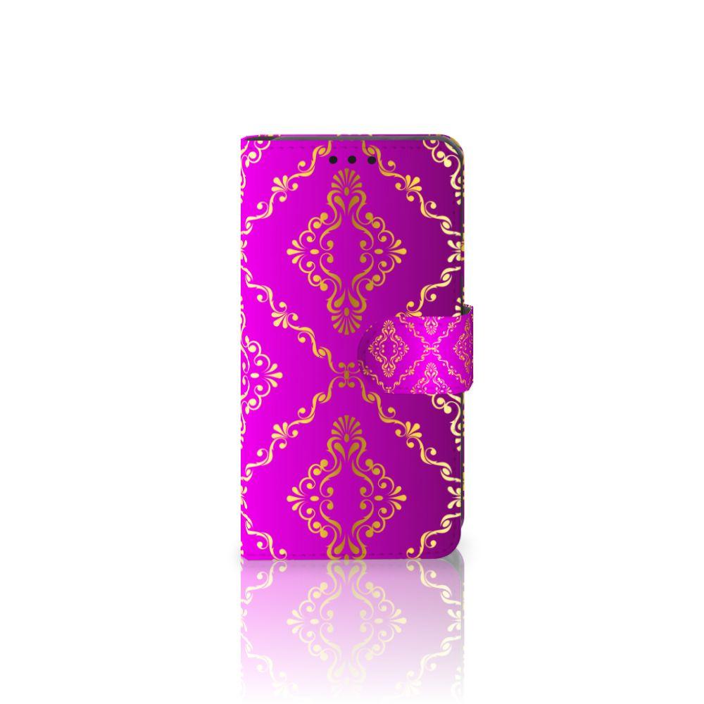 LG X Style Uniek Boekhoesje Barok Roze