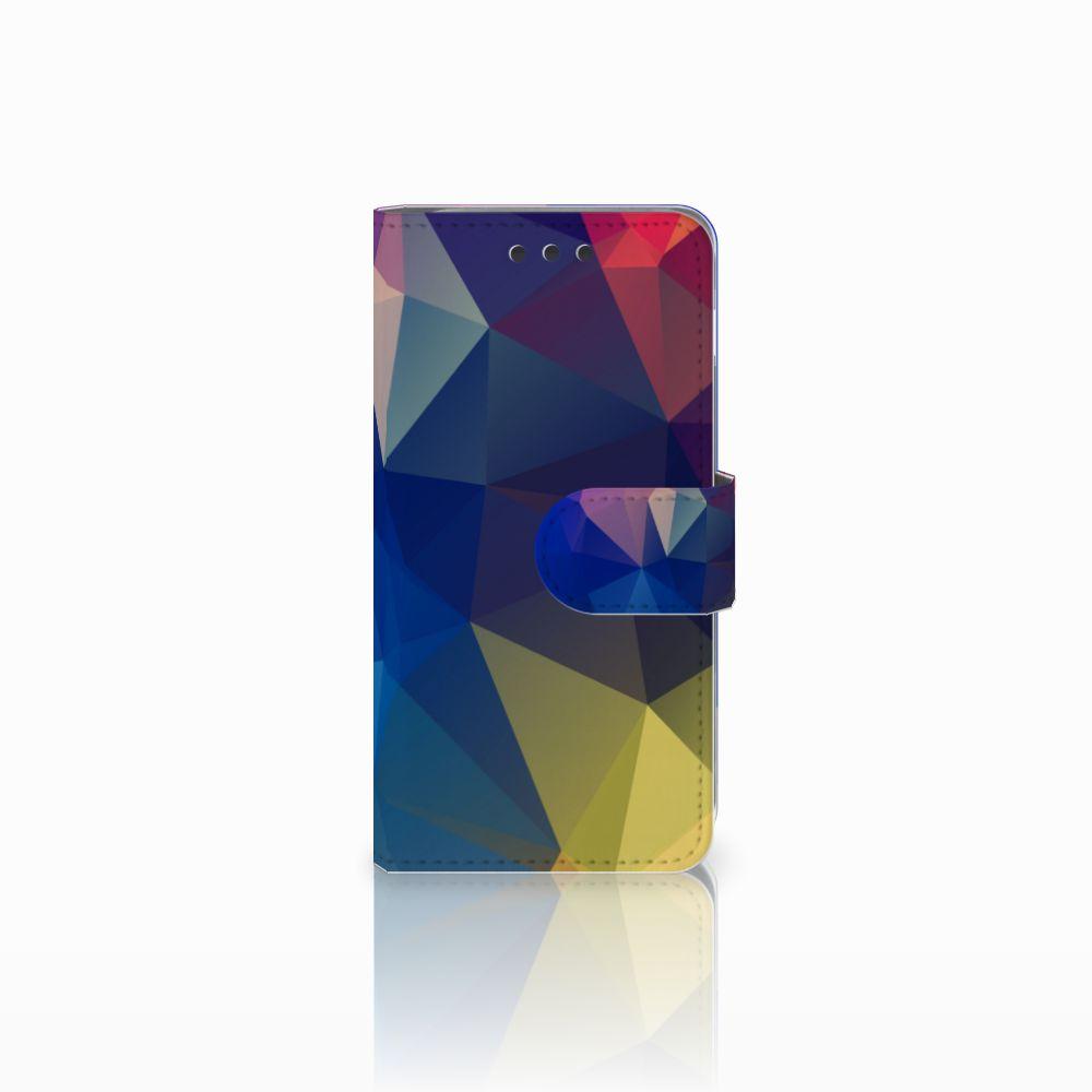 Samsung Galaxy A3 2016 Bookcase Polygon Dark