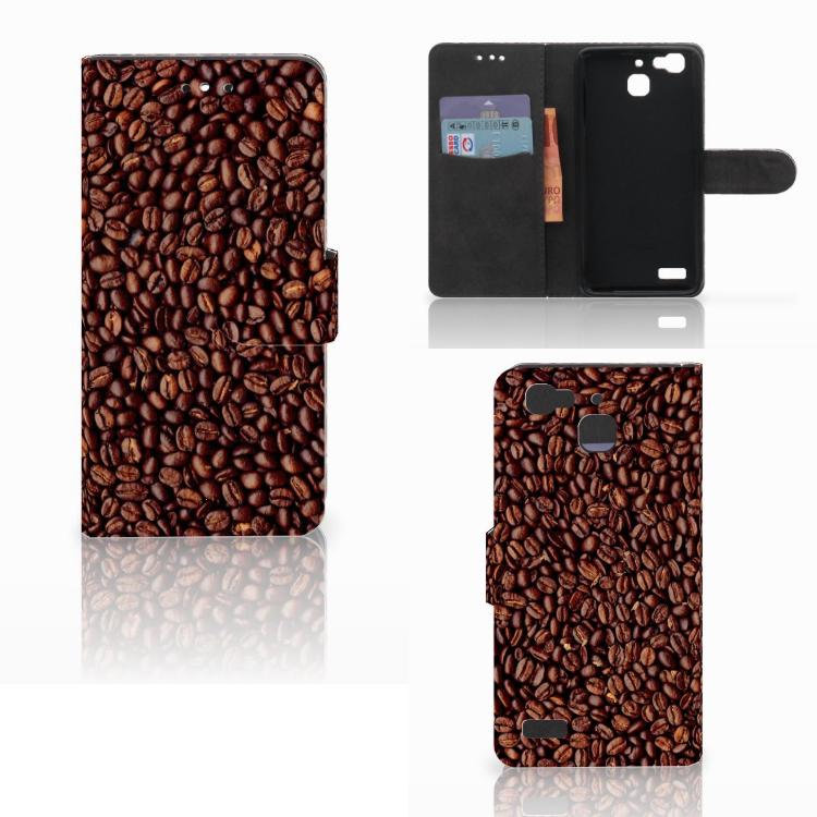 Huawei P8 Lite Smart (GR3) Book Cover Koffiebonen
