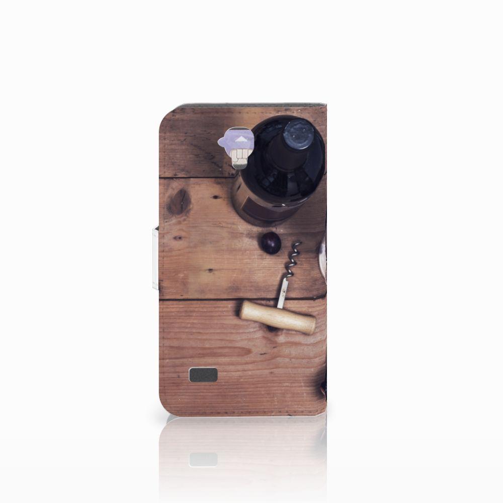 Huawei Y5 Y560 Book Cover Wijn
