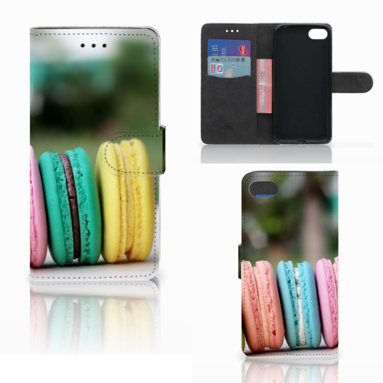 Huawei Y5 2018 Book Cover Macarons