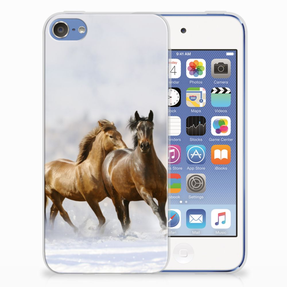 Apple iPod Touch 5 | 6 TPU Hoesje Paarden