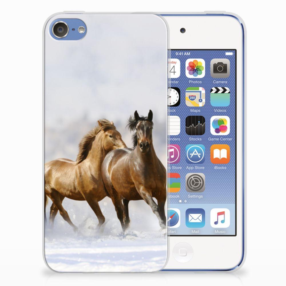 Apple iPod Touch 5 | 6 Leuk Hoesje Paarden